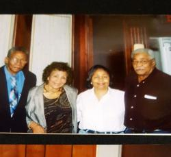 Children of Arthur James Jr. left to right, Lervin, Mary, Jean and Allen