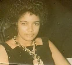 Gloria James Nichols, she was the daughter of Cleveland James, Sr. and Amy Riggs James and granddaughter of Paul James a